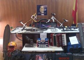 Vendían objetos robados en la Cañada Real