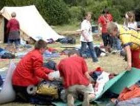 Setenta scouts han sido desalojados en León por riesgo de inundaciones