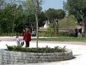La red de riego automático se extiende por 600 kilómetros de parques y jardines