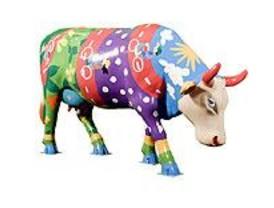 Recuperada en un piso una de las vacas Cow Parade