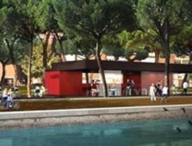 Habrá cinco cafeterías a orillas del Manzanares