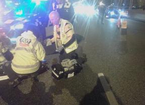 Fallece atropellada una mujer cuando cruzaba indebidamente la A-5