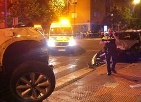 Muere un joven de 18 años en un accidente de tráfico en Leganés