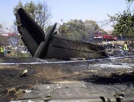 154 muertos en un accidente en Barajas