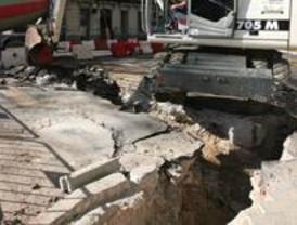 Chamartín, Usera y Puente de Vallecas, afectados por las obras de pavimentación