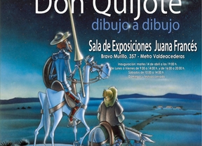 Don Quijote cabalga por Tetuán