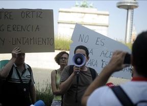 Protesta por el derribo en Ofelia Nieto