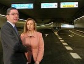 La M-30 entre el Nudo Sur y el Vicente Calderón será usado por 110.000 vehículos al día