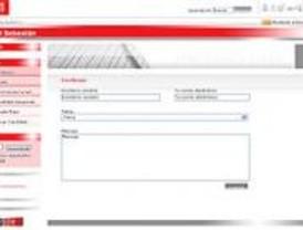 Reemplazada la página web de Sebastián por un enlace con la del PSOE