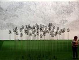 La exposición 'Aquí y ahora' presenta a 21 jóvenes artistas