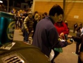 Las multas por botellón no se podrán sustituir por cursos a partir del domingo