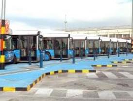 Los autobuses de la EMT de gas natural repostarán en Carabanchel y Entrevías