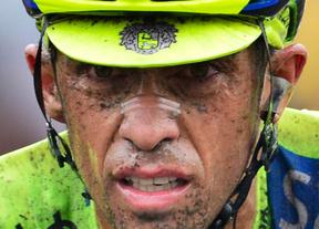Contador abandona el Tour por una fuerte caída