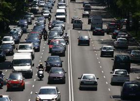 Retenciones de hasta 40 kilómetros dificultan la salida de Madrid