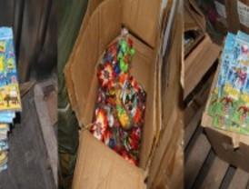 Intervienen 300.000 juguetes falsificados en una nave de Fuenlabrada