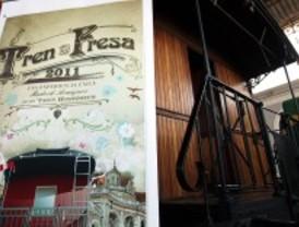 El Tren de la Fresa sobrevive a la crisis y une de nuevo Madrid y Aranjuez