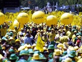 La 'marea amarilla' se despide en Colón