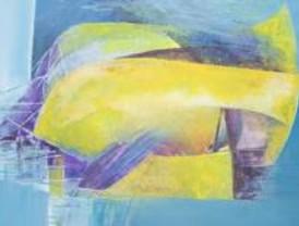 El aeropuerto de Barajas expone obras abstractas de Susie Gadea