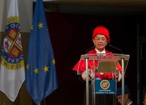 Óscar Arias y Rafael Ansón, doctores honoris causa por la UAX