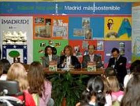 30.000 niños aprenderán este curso a hacer un Madrid sostenible
