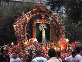 La procesión de la Virgen de la Paloma cortará varias calles del centro