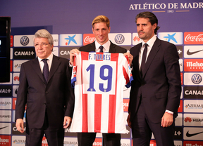 Cerca de 38.000 personas acuden a dar la bienvenida a Fernando Torres