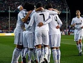 El Madrid ganó sin sufrir