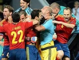 La Roja, un ejemplo para el deporte español