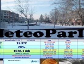 Un estudiante de Parla crea la primera estación meteorológica de la localidad