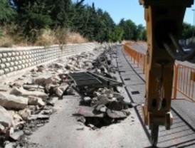 Avanza la construcción del tramo roceño del gran carril bici del noroeste