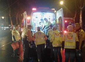 Herido grave tras ser atropellado por un taxi al cruzar el Paseo del Prado