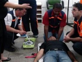 Los trabajadores deportivos recibirán formación de primeros auxilios