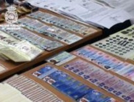 Ocho detenidos en Madrid en la desarticulación de una banda de falsificación