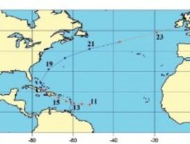 Investigadores de la Autónoma reconstruyen el rastro un huracán de 1680