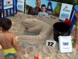 El Retiro acoge un concurso con 30 castillos de arena