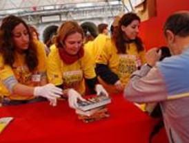 El Día del Libro Solidario recoge 70.000 ejemplares para Colombia