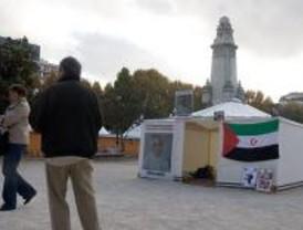 Apoyo a Amenatu Haidar en Plaza de España