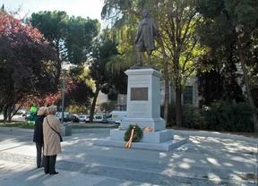 Estatua de Blas de Lezo en la plaza de Colón.