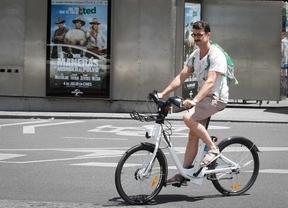 Sistema de alquiler de bicicletas eléctricas Bicimad.