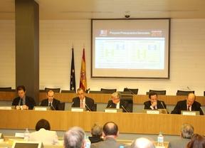 Reunión de CEIM con el consejero de Economía y Hacienda de la Comunidad, Enrique Ossorio