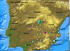 Tiembla la tierra en Madrid por un terremoto en Albacete