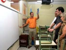 220 pizarras digitales en los colegios de Leganés