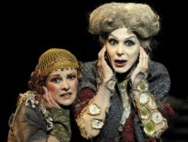 Crítica de teatro. Tórtolas, crepúsculo y telón: ovación a Nieva