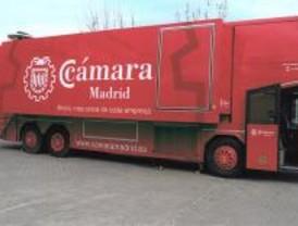 El Camerbús reanuda su viaje en Santa María de la Alameda