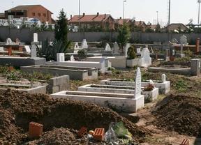 Cementerio musulman en Griñón.