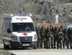 Cinco militares muertos al explotar un artefacto durante unas prácticas
