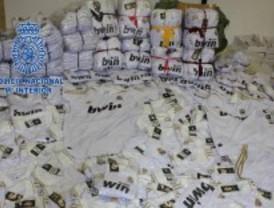 Detenidos por vender productos falsos