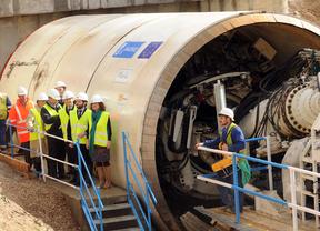 La tuneladora 'María' comienza a trabajar en la construcción del colector de Pinos