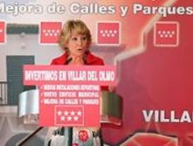 Esperanza Aguirre apoya la postura de Acebes sobre las aspiraciones de Gallardón