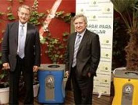 Los madrileños reciclan más que la media de los españoles